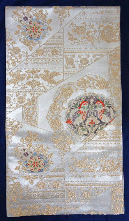 西陣織・正絹・仕立て上がり・袋帯・仕立上り袋帯・黒留袖・訪問着・色無地・フォーマル用 仕立て上り