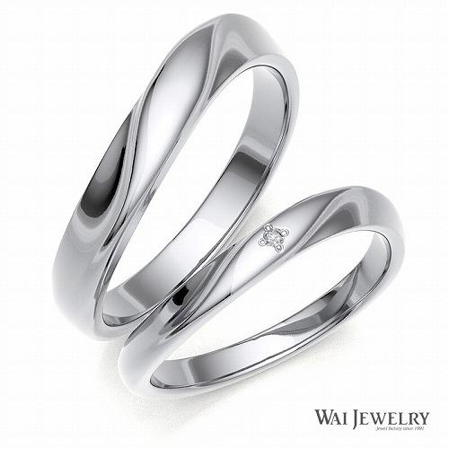 結婚指輪 マリッジリング ペアリング 2本セット ホワイトゴールドk18wg 高品質ダイヤモンド 贈り物 シンプル 自社国内で大切に丁寧にお創り致します。カップル お揃い プレゼント シンプルな指輪