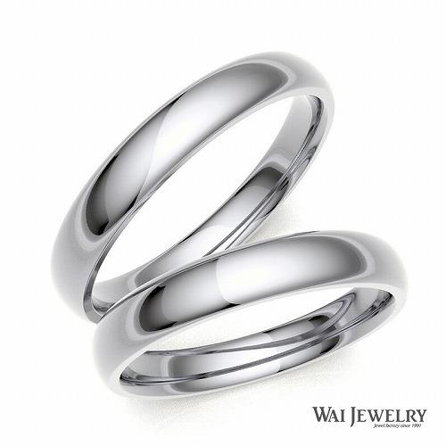 結婚指輪 マリッジリング ペアリング 2本セット ホワイトゴールドk18wg 高品質ダイヤモンド 贈り物 シンプル 自社国内で大切に丁寧にお創り致します。記念日 カップル プレゼン シンプル 甲丸リング 人気 結婚指輪 ゴールド ペア 甲丸