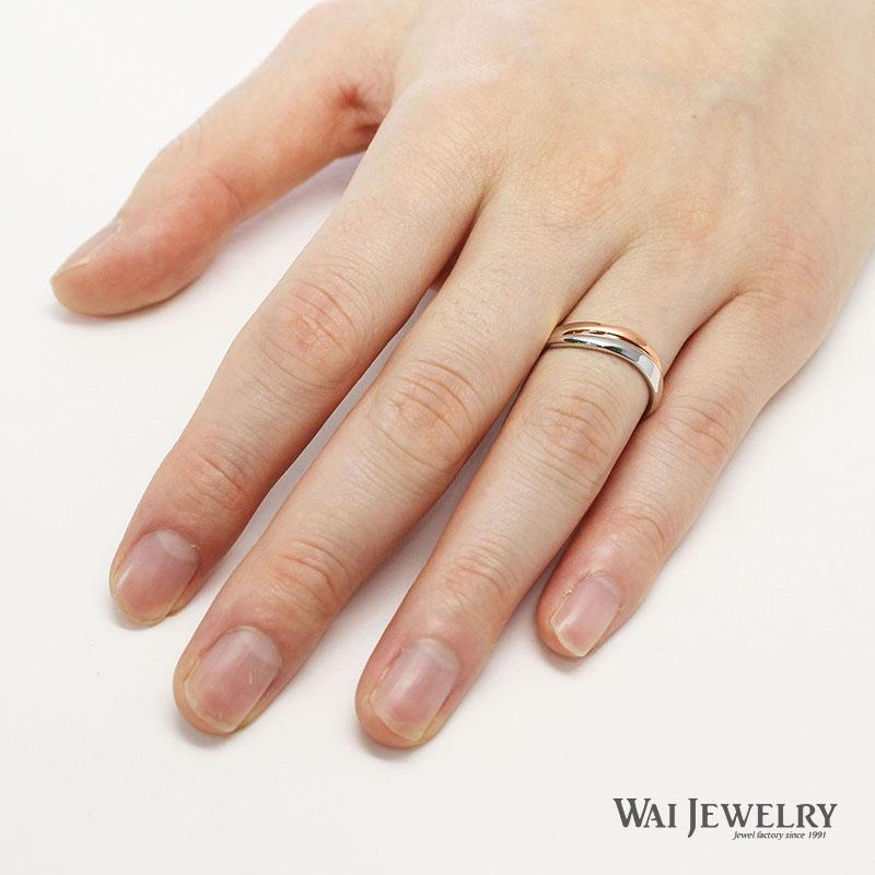 キャッシュレス 還元品質保証書付き 結婚指輪ペア コンビリング 2本セット マリッジリング プラチナpt900 ピンクゴールドk18 豪華ダイヤモンド ペアリング 指輪 ring 贈り物 ボリュームリング 30代 40代 50代 高品質ダイヤ PT900 K18PG 母の日 ペア結婚指輪UzGVpqSM
