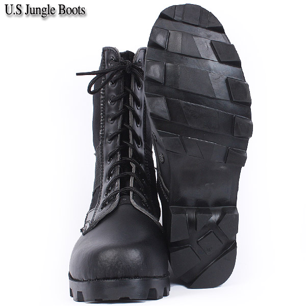 New U.S. forces jungle boots black << WIP >> military man gift present