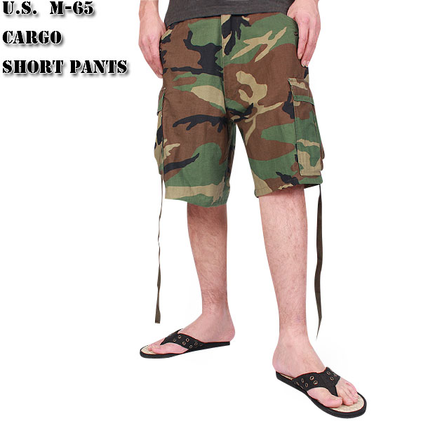 New U.S. military m short cargo pants woodland camouflage men s military  bottoms Shorts Pants military pants army bread army-65 pants 93d72d7e880