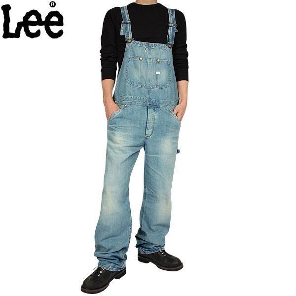 【20%OFFクーポン対象】Lee/リー AMERICAN RIDERS OVERALLS LM4254-556 オーバーオール ワークパンツ 【LM4254-556】 《WIP》 ミリタリー 男性 春 ギフト プレゼント
