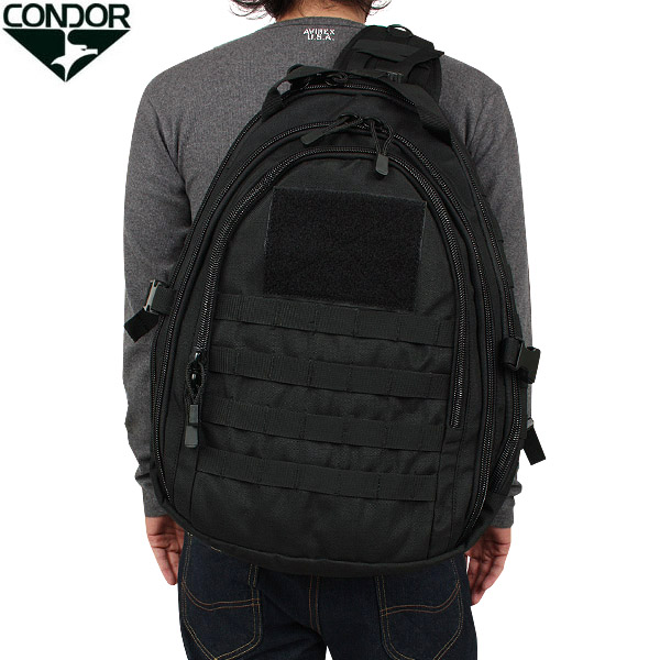 CONDOR / Condor AMBIDEXTROUS Sling bag black military bags shoulder bag WIP ...