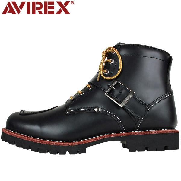 [WIP] AVIREX-avirex AV2931 TIGER buckle boots black
