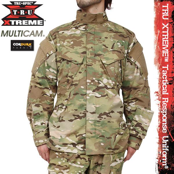 TRU-SPEC/トゥルースペック TRU XTREME Tactical Response Uniform ジャケット マルチカム 【TRU XTREME-jacket】 【クーポン対象外】 ミリタリー 秋 冬 服 春 【キャッシュレス5%還元対象品】