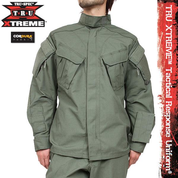 TRU-SPEC/トゥルースペック TRU XTREME Tactical Response Uniform ジャケット オリーブドラブ【クーポン対象外】 【クーポン対象外】 ミリタリー 秋 冬 服 春