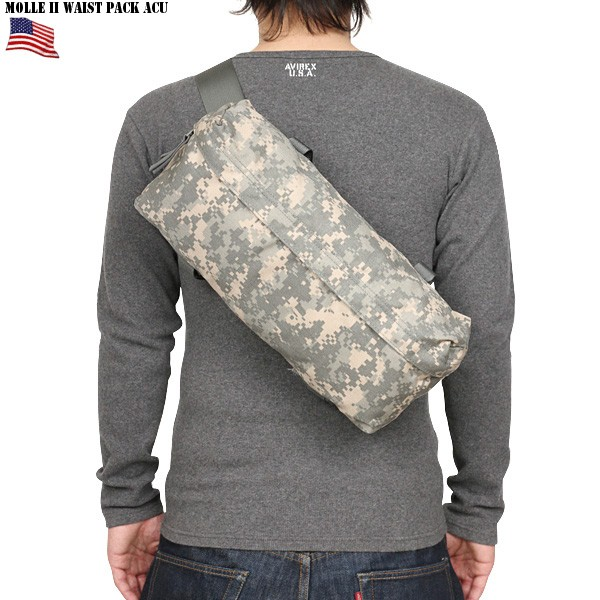 Men's military bag / U S  forces real thing new article U S  forces MOLLE  II Westpac ACU / military U S  forces forces thing camouflage
