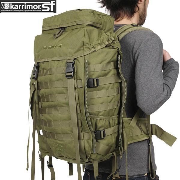 メンズ ミリタリー バッグ / karrimor SF カリマー スペシャルフォース Predator Patrol 45 バッグパック OLIVE ミリタリーバッグ リュックサック《WIP》【Sx】ミリタリー 男性 旅行 ギフト プレゼント