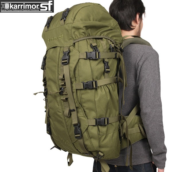 【20%OFFセール開催中】メンズ ミリタリー バッグ / karrimor SF カリマー スペシャルフォース Sabre 75 バッグパック OLIVE ミリタリーバッグ リュックサック《WIP》 ミリタリー 男性 旅行 ギフト プレゼント