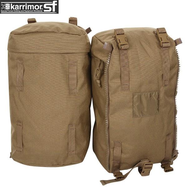 ミリタリー バッグ / karrimor SF カリマー スペシャルフォース PLCE Side pockets pair COYOTE 【ポーチ】 ミリタリー  【Sx】【キャッシュレス5%還元対象品】