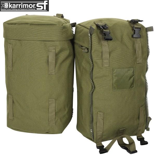ミリタリー バッグ / karrimor SF カリマー スペシャルフォース PLCE Side pockets pair OLIVE 【ポーチ】 ミリタリー  【Sx】【キャッシュレス5%還元対象品】