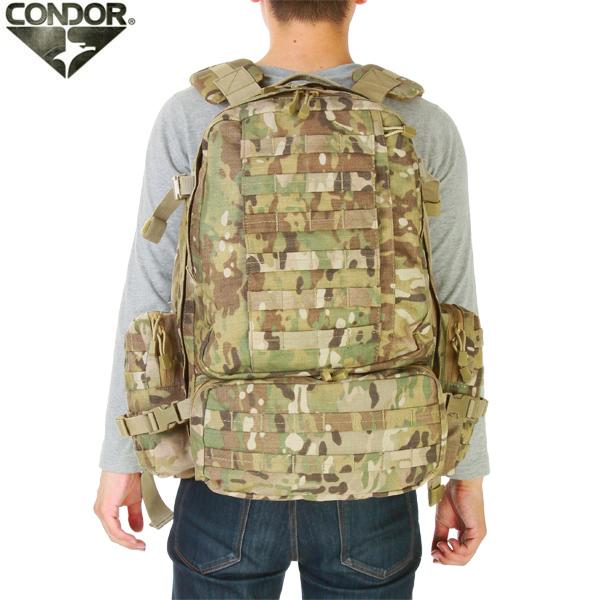 メンズ ミリタリー バッグ / CONDOR/コンドル 3Day Assault Pack MULTICAM デイパック 【リュックサック】《WIP》 ミリタリー 男性 旅行 ギフト プレゼント【クーポン対象外】[Px]