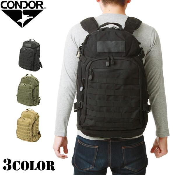 メンズ ミリタリー バッグ / CONDOR/コンドル 160 Venture Pack べンチャーパック 3色 【タクティカルバッグ】【リュックサック】 ミリタリー  【クーポン対象外】【キャッシュレス5%還元対象品】