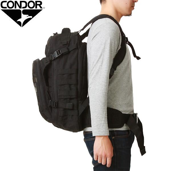 Condor Messenger Bag schwarz