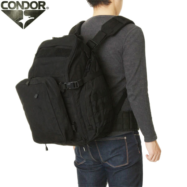 Condor 166 Bison Backpack 3 Color 10p13dec14