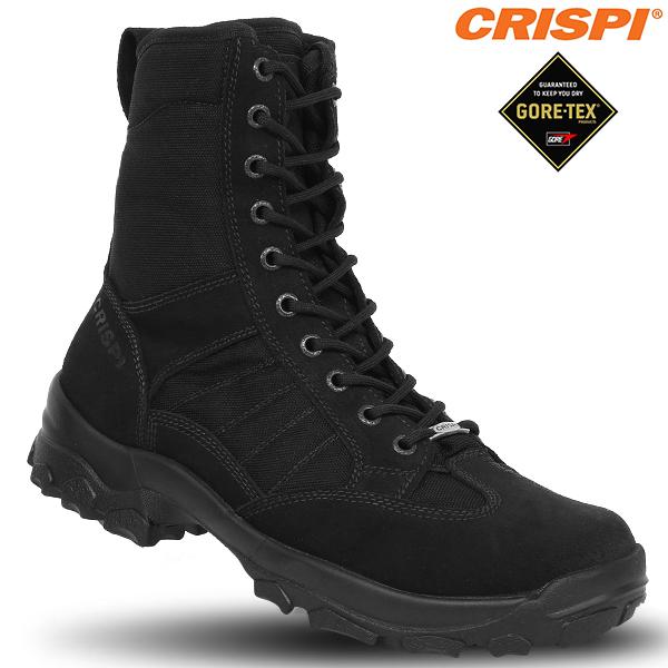 メンズ ミリタリー ブーツ / CRISPI クリスピー SWAT DESERT GTX タクティカルブーツ BLACK ゴアテックス シューズ メンズ 《WIP》【クーポン対象外】[Px] ミリタリー 男性 ギフト プレゼント