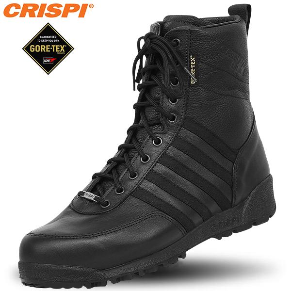 CRISPI クリスピー SWAT HTG タクティカルブーツ BLACK メンズ ミリタリー ブーツ /ゴアテックス GORE-TEX シューズ メンズ 《WIP》 【クーポン対象外】[Px] ミリタリー 男性 ギフト プレゼント