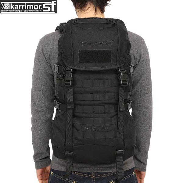 ミリタリー バッグ / karrimor SF カリマー スペシャルフォース Predator 30 バッグパック BLACK デイパック 【リュックサック】【Sx】ミリタリー  【Sx】【キャッシュレス5%還元対象品】