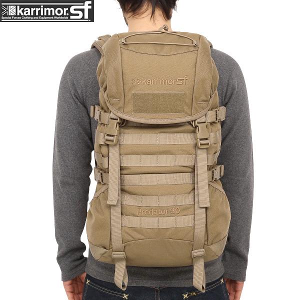 ミリタリー バッグ / karrimor SF カリマー スペシャルフォース Predator 30 バッグパック COYOTE デイパック 【リュックサック】《WIP》【Sx】ミリタリー 男性 旅行 ギフト 【Sx】