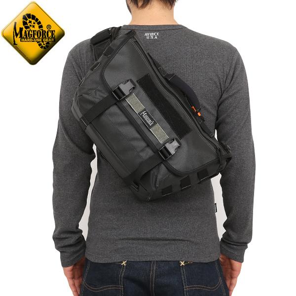 メンズ ミリタリー バッグ / MAGFORCE マグフォース MF-6052 Ferocious Messenger Bag Black メッセンジャーバッグ 【メッセンジャーバック】  ミリタリー  【キャッシュレス5%還元対象品】