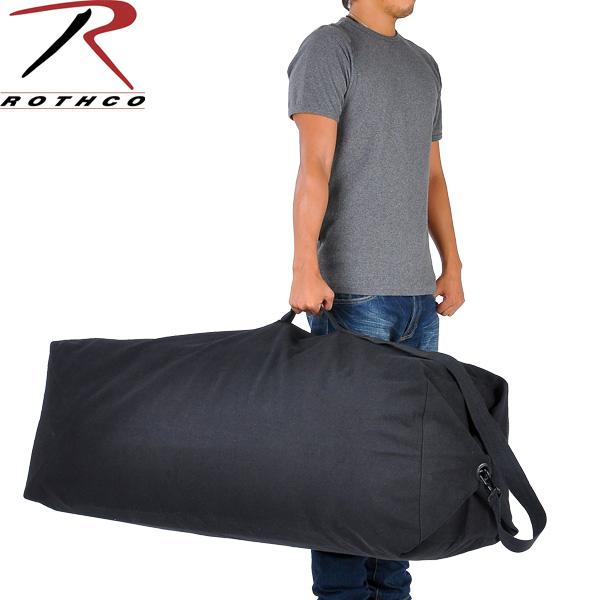ROTHCO   Rothko Duffle top load canvas bag GIANT (big) military bag  WIP   military 94b42d87801