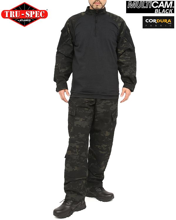 TRU 規格 / 真實規格 1/4 郵編作戰襯衫 MultiCam 黑色 MultiCam 黑色男裝頂級軍事作戰襯衫生存遊戲 sabage 配備 CRYE 精密 ACU BDU [WIP] 迷彩衣服