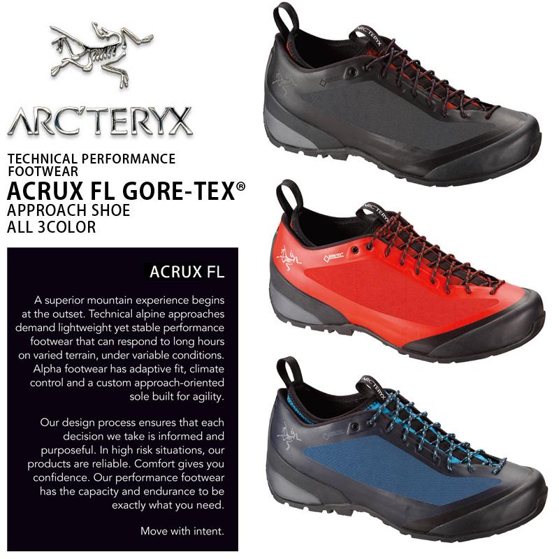 ARC'TERYX アークテリクス ACRUX(アクルックス) FL GORE-TEX アプローチシューズ メンズ フットウェア トレッキングシューズ アウトドア 登山靴 ゴアテックス《WIP》ミリタリー 男性 ギフト プレゼント【クーポン対象外】