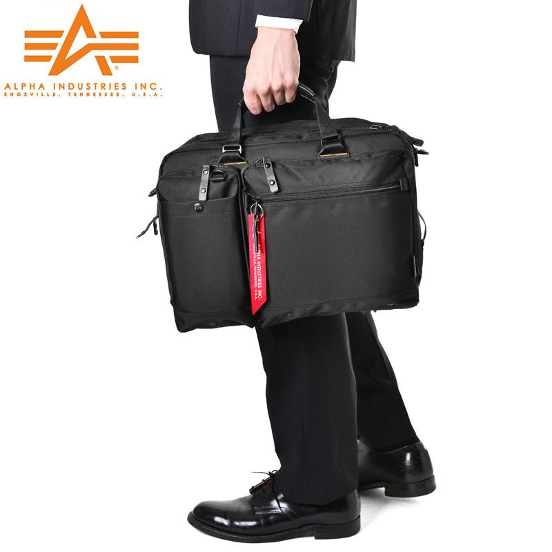 メンズ ミリタリー バッグ / ALPHA アルファ 0495100 PC/タブレット対応 多機能 2WAY ビジネスバッグ《WIP》【E】 旅行 ギフト プレゼント【Sx】