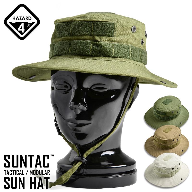 HAZARD4 hazard 4 SUN-TAC TACTICAL MODULAR SUN HAT (Suntech tactical    modular solo) color mens military hats Hat awning Velcro Panel Mall system  response ... d4d314f7460