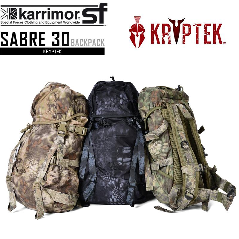 karrimor SF カリマー スペシャルフォース Sabre30 (セイバー30) バッグパック リュックサック KRYPTEK クリプテック メンズ ミリタリー 迷彩 カモフラ《WIP》【クーポン対象外】 男性 旅行 ギフト プレゼント