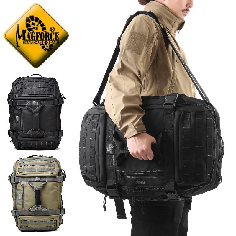 【店内20%OFFセール開催中】メンズ ミリタリー バッグ / MAGFORCE マグフォース MF-0613 Doppelduffel Adv. Bag 2 普段使いに、旅行用に、または機材等を持ち運ぶ為にも大変重宝するバッグです。《WIP》  ミリタリー 男性 旅行 ギフト プレゼント