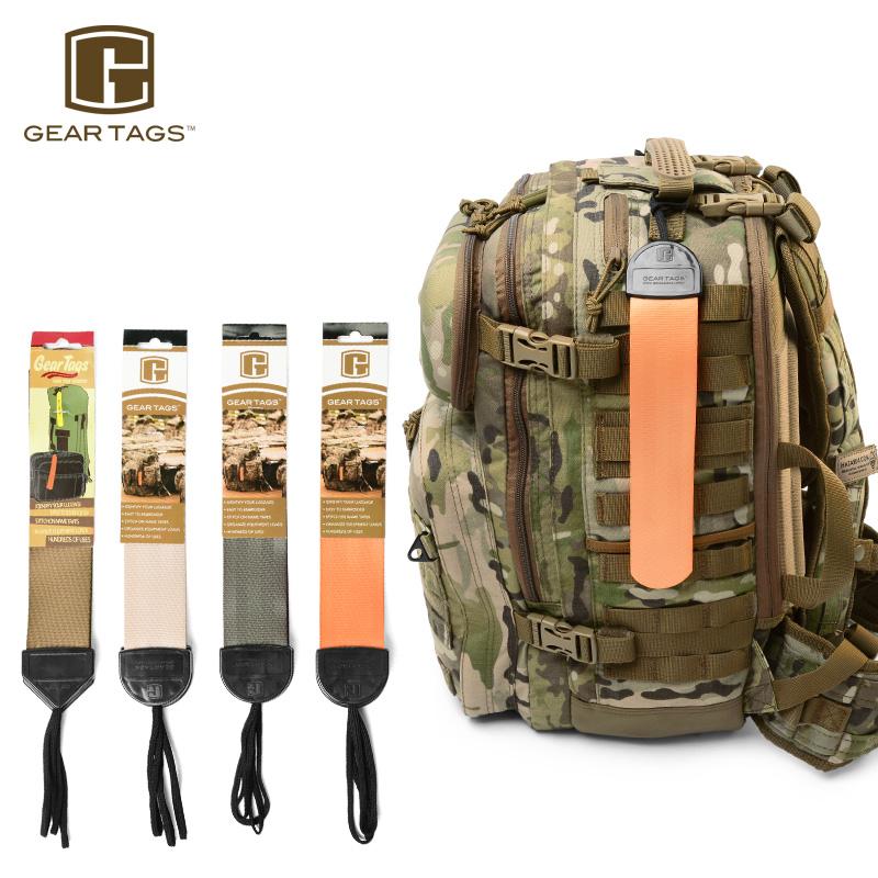 GEAR TAGS 荷物用ナイロンタグ LARGE 3本セット《WIP》