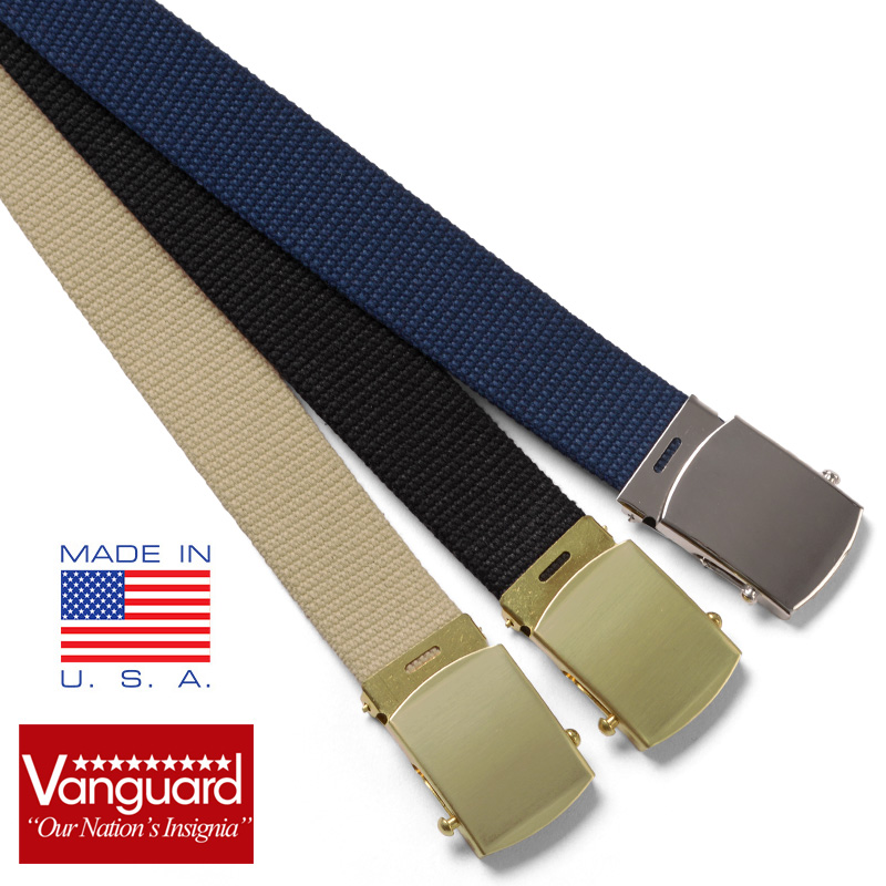 VANGUARD vanguard US NAVY GI belt / military forces thing men gift