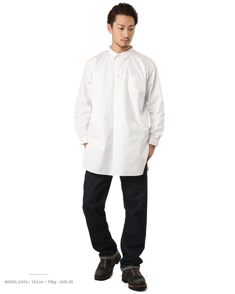 新瑞典軍隊爺爺男裝女士軍隊單上衣襯衫長袖襯衫襯衫裙子套衫襯衫在大小襯衫長套筒中性北歐禮品贈品 [WIP] [Px]