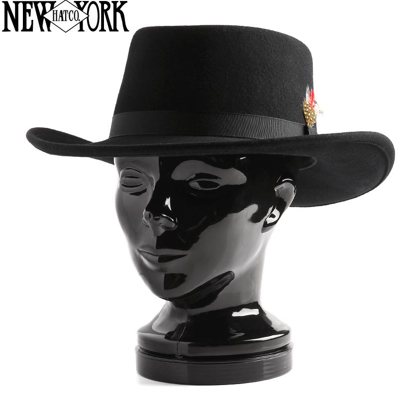 New York Hat ニューヨークハット 5314 Mid Nite Gambler フェルトハット /ミリタリー 軍物 メンズ  【キャッシュレス5%還元対象品】