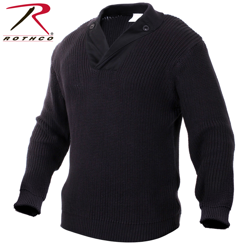 【15%OFFクーポン対象品】ROTHCO ロスコ 米軍 WW2 メカニック セーター ブラック/ ミリタリー 春