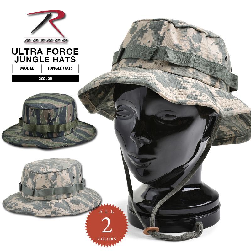 2d5b49eabc3 WAIPER RAKUTENICHIBATEN  ROTHCO Roscoe ULTRA FORCE jungle hat TIGER ...