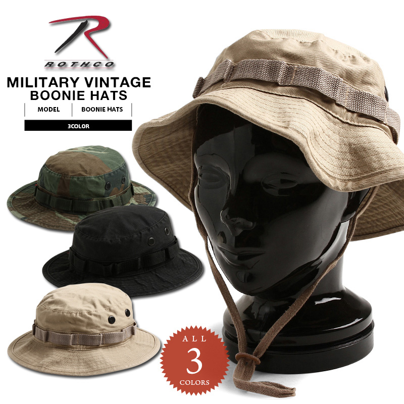 27dea6fdfc1 ROTHCO ロスコヴィンテージブーニーハット / military gift