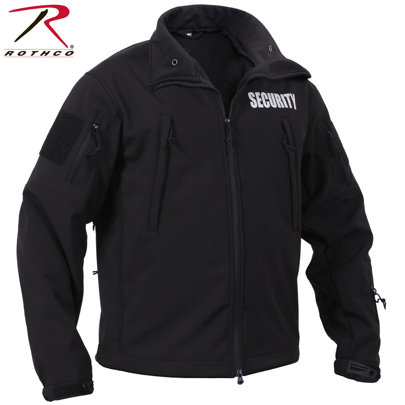 【20%OFFセール開催中】ROTHCO ロスコ SPECIAL OPS ソフトシェル SECURITY ジャケット 97670 春 プレゼント《WIP》ミリタリー 軍物 メンズ 男性 ギフト プレゼント