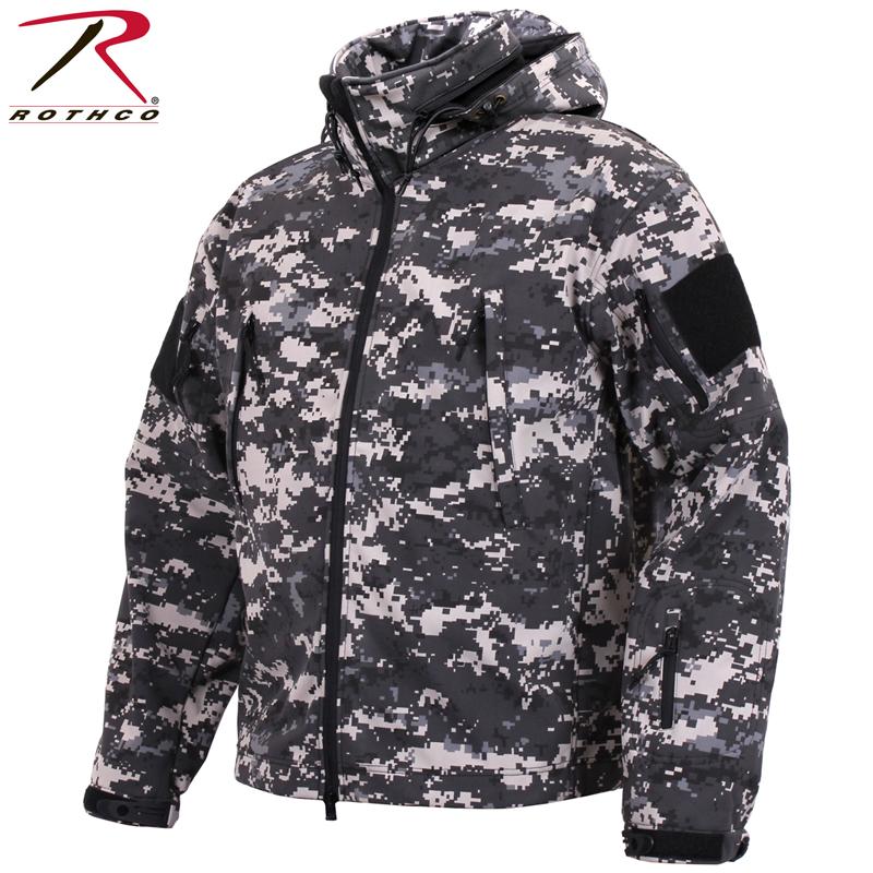 【15%OFFクーポン対象品】ROTHCO ロスコ SPECIAL OPS タクティカル ソフトシェルジャケット Subdued Urban 春 /ミリタリー 軍物 メンズ