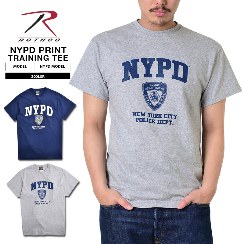 5b9c9f13 ROTHCO Roscoe NYPD official training T-shirt << WIP >> ...
