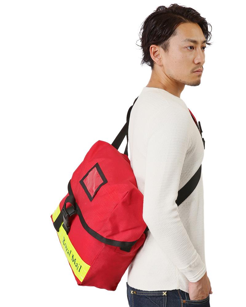 87a845cbd62 Brand name. The real thing. British ROYAL MAIL messenger bag SMALL yellow  reflector USED