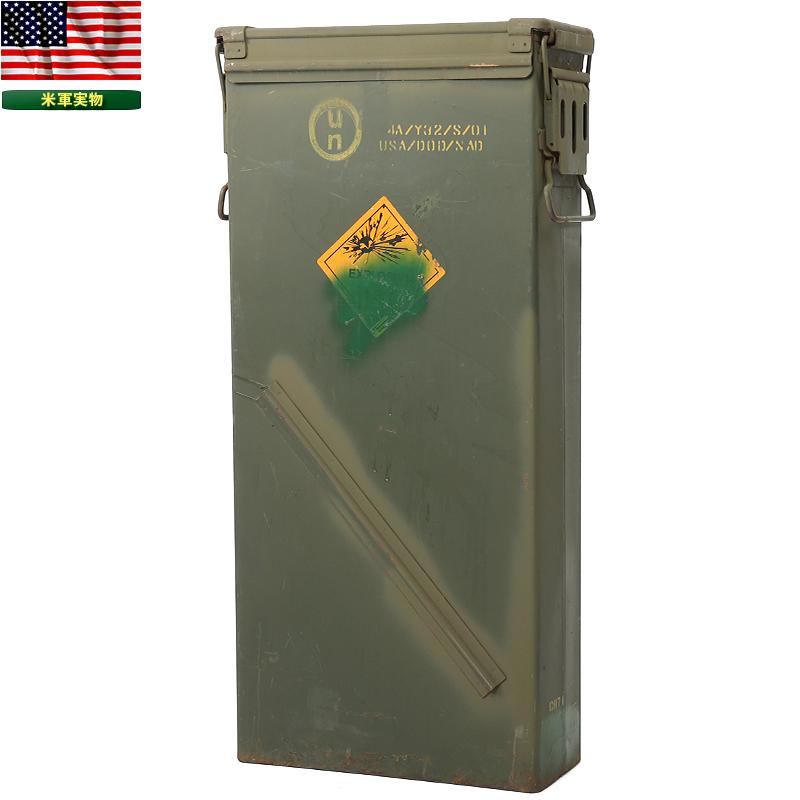 実物 米軍 81mm ILLUM M853A1 AMMO CAN 【別】【送料無料クーポン対象外】 インテリア 収納 ミリタリー ボックス 弾薬箱 米軍 アメリカ軍 SURPLUS【中古】《WIP》 男性 ギフト プレゼント