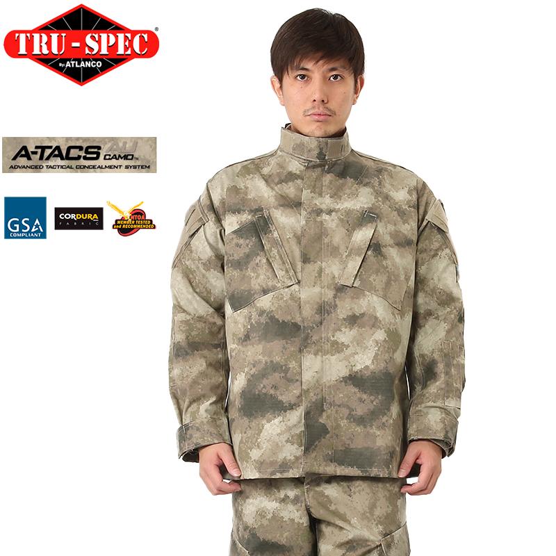 TRU-SPEC トゥルースペック Tactical Response Uniform ジャケット A-TACS AU 【クーポン対象外】 ミリタリー 秋 冬 服 春