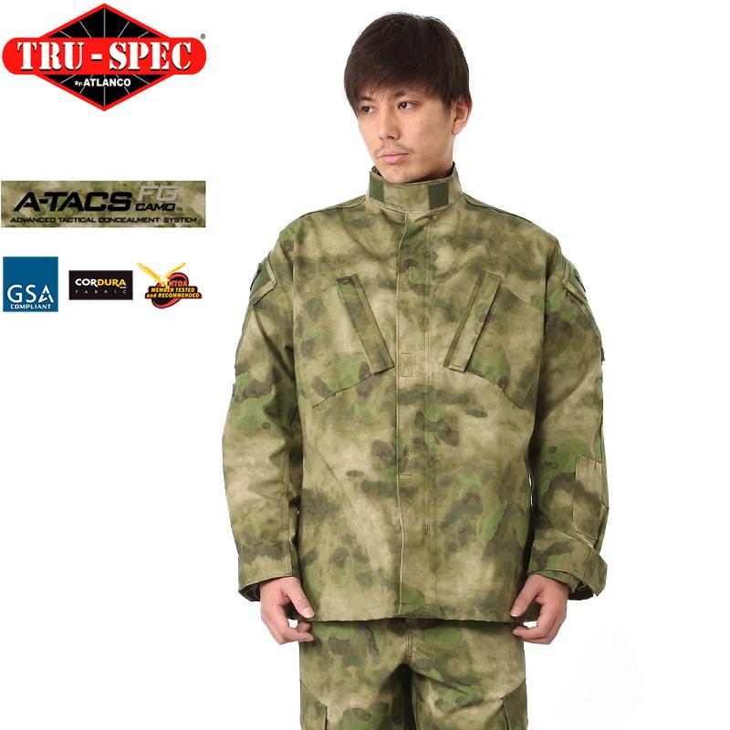 TRU-SPEC トゥルースペック Tactical Response Uniform ジャケット A-TACS FG 《WIP》【クーポン対象外】[Px] ミリタリー 秋 冬 服 男性 春 ギフト プレゼント