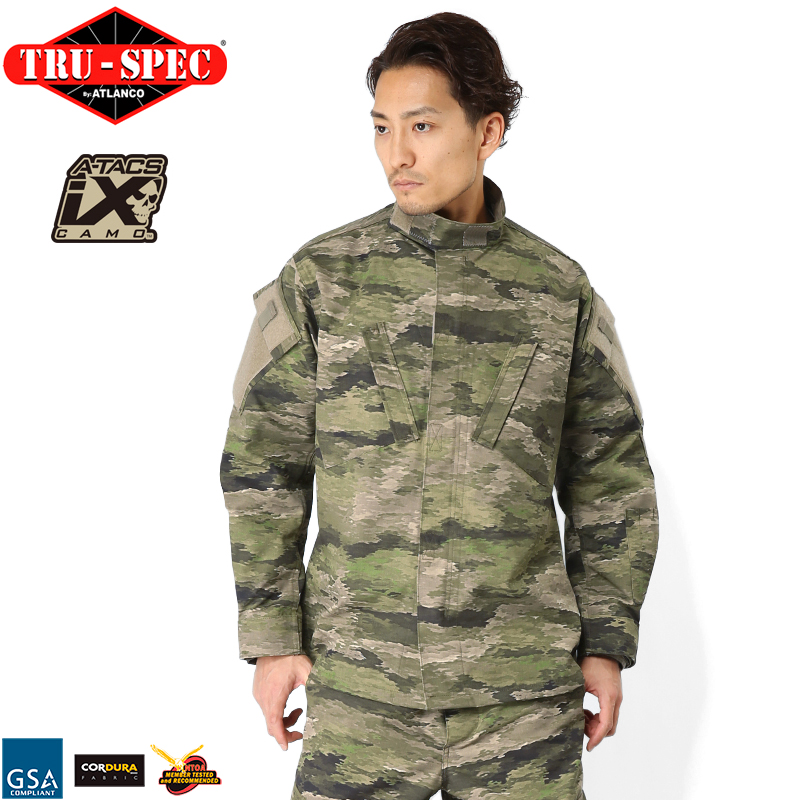 TRU-SPEC トゥルースペック Tactical Response Uniform ジャケット A-TACS iX【クーポン対象外】[Px]《WIP》ミリタリー 軍物 メンズ 男性 ギフト プレゼント