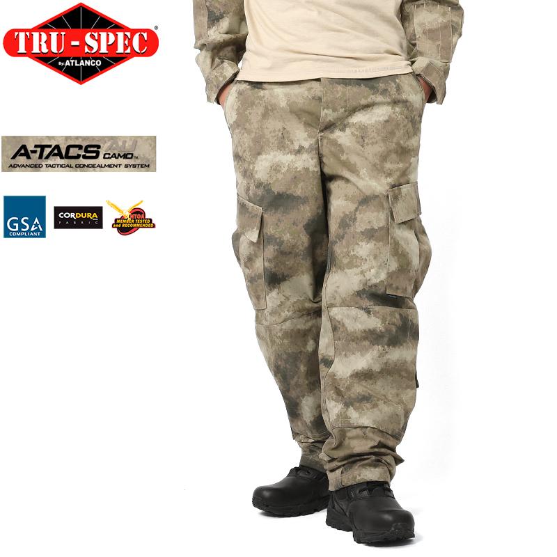 TRU-SPEC トゥルースペック 米軍 タクティカル レスポンス ユニフォーム パンツ Tactical Response Uniform Pants A-TACS AU エータックス メンズ カーゴパンツ タクティカルパンツ アメリカ軍 【クーポン対象外】[Px] 服 春