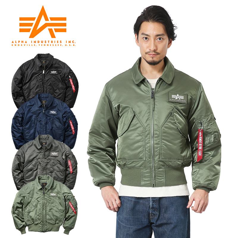sports shoes 543d0 199f7 ALPHA INDUSTRIES alpha CWU-45/P flight jacket 2030/ men military outer  CWU45P CWU-45P flight jacket military jacket work clothes cold protection  fall ...