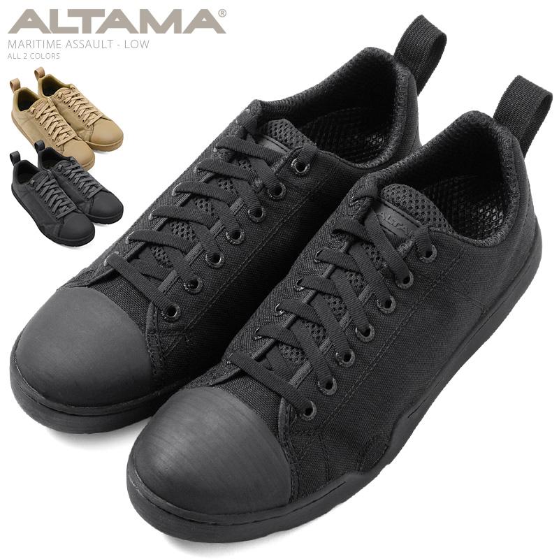 【20%OFFセール開催中】ALTAMA アルタマ MARITIME ASSAULT タクティカルスニーカー LOW《WIP》ミリタリー 軍物 メンズ 男性 ギフト プレゼント